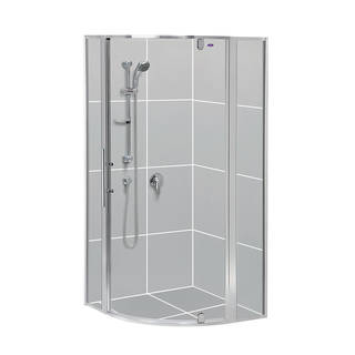 Valencia Rondo Shower Doors & Returns