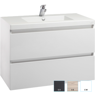 Valencia Wall-hung Vanity 900mm