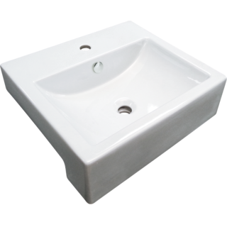 Milano Semi-recessed Square Basin