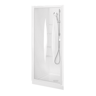 Sapphire Alcove Shower 900 x 750mm
