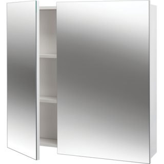 Sapphire Mirror Cabinet Double 760mm