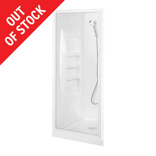 Sapphire Alcove Shower 900 x 900mm