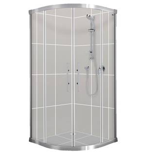 Valencia Round Sliding Shower Doors & Returns