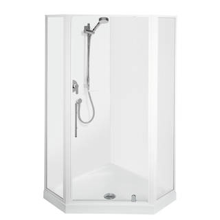 Valencia Angle Corner Shower 900 x 900mm