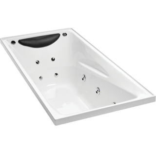 Studio II Rectangular Spa Bath