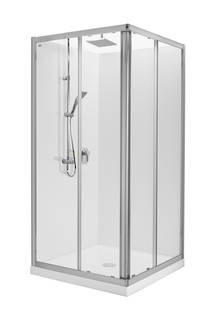 Valencia Elite Square Corner Sliding Shower